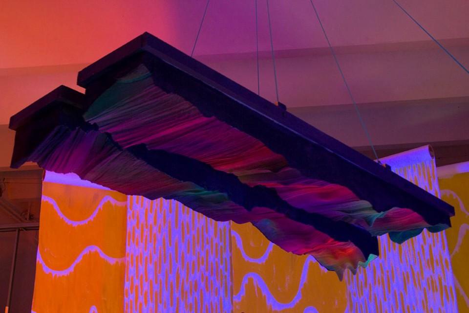 hanging acoustic panel colorfull foam