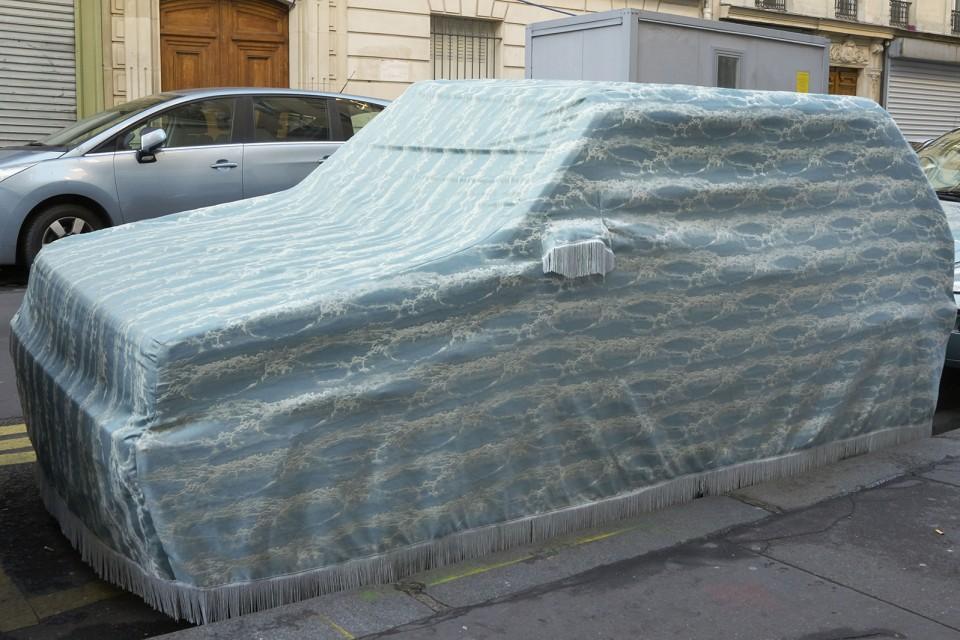 sculpture dress for car