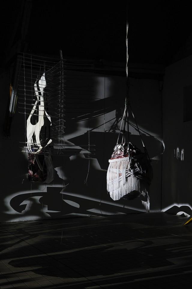 exhibition sculpture installation shadow
