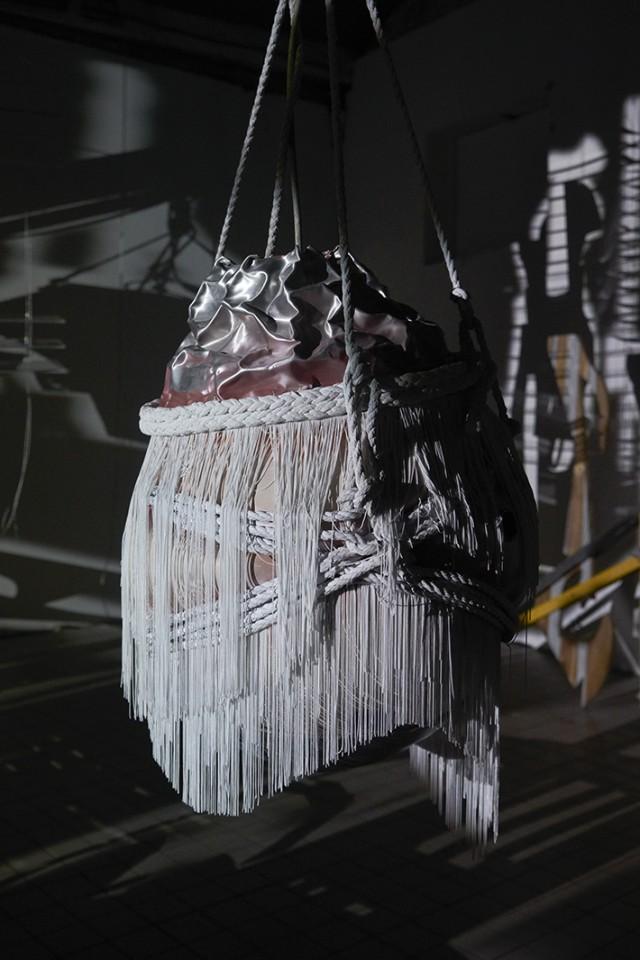 sculpture installation shadow