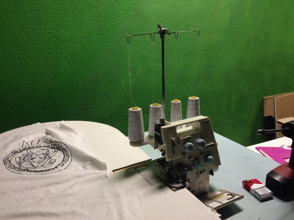 sewing silicon t-shirts