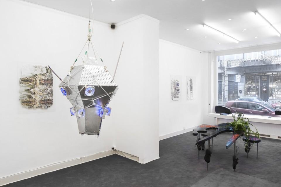 sculpture installation gallery