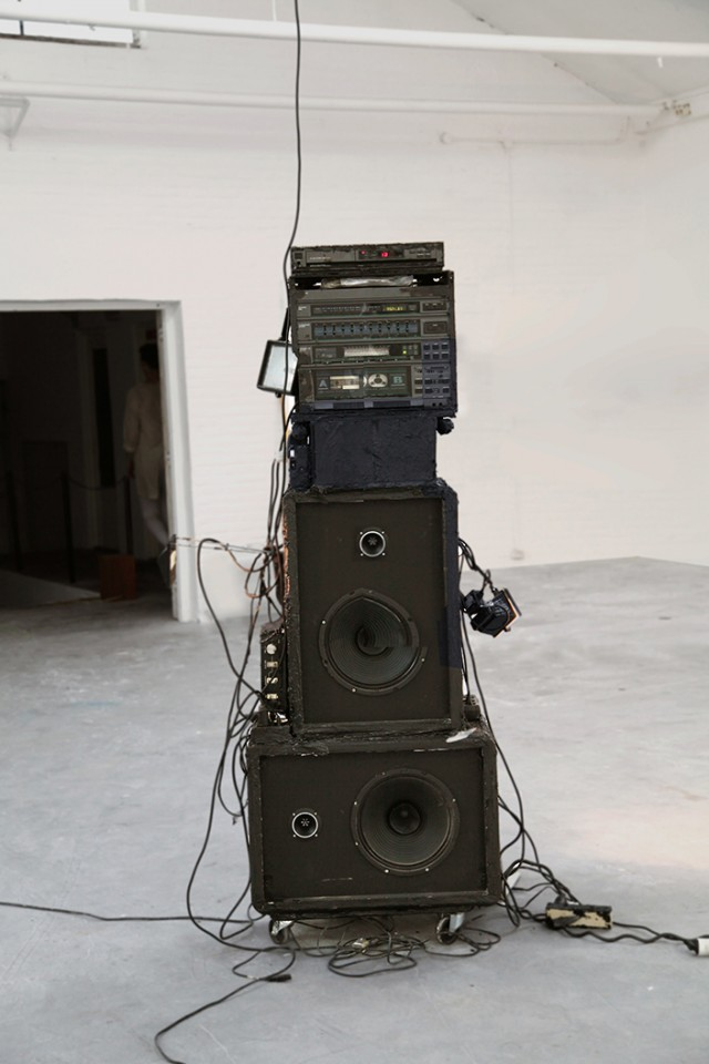 soundsytem sculpture
