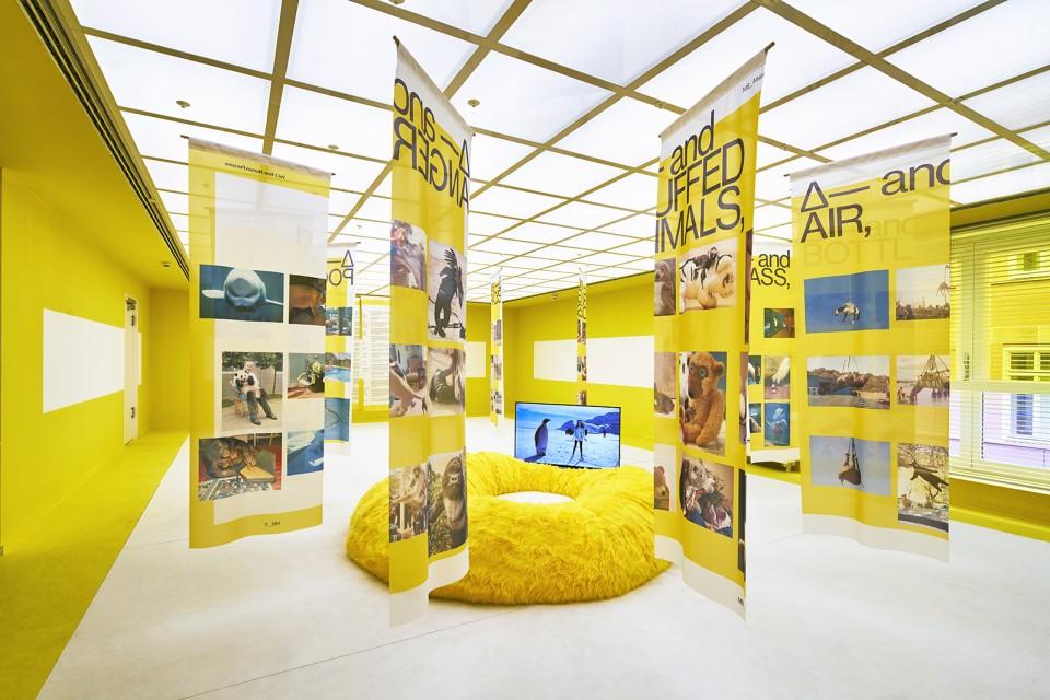 sculpture installation scenography museum