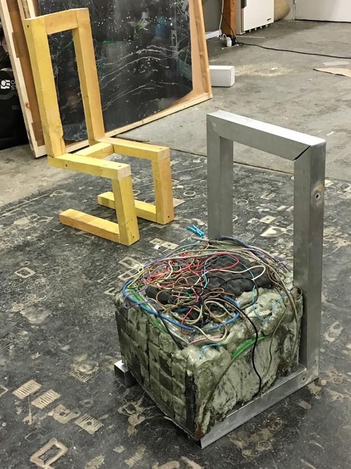 build up structure sculpture cable porn