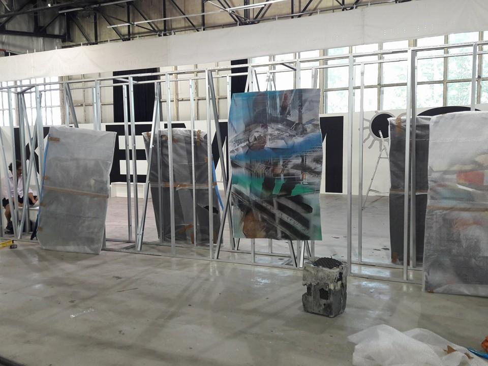sculpture installation painting